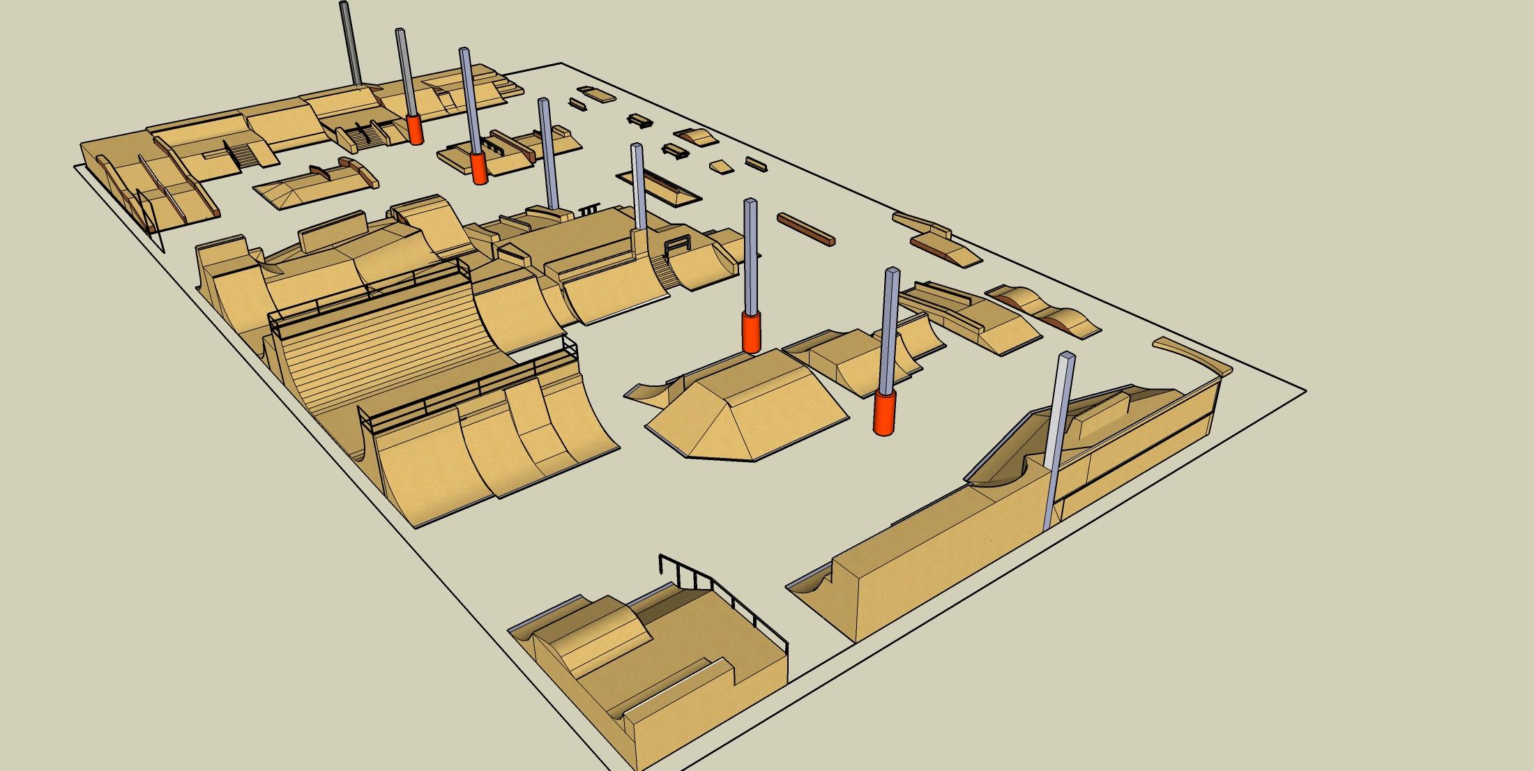 В бютжете Павлограда предусмотрено 700 тыс грн на постройку скейт-парка