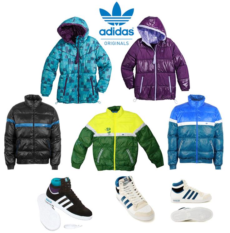 Пуховики Адидас (Adidas)