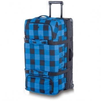 Конструкция. синий.  Материал. бел.руб. чемодан с выдвижной ручкой.